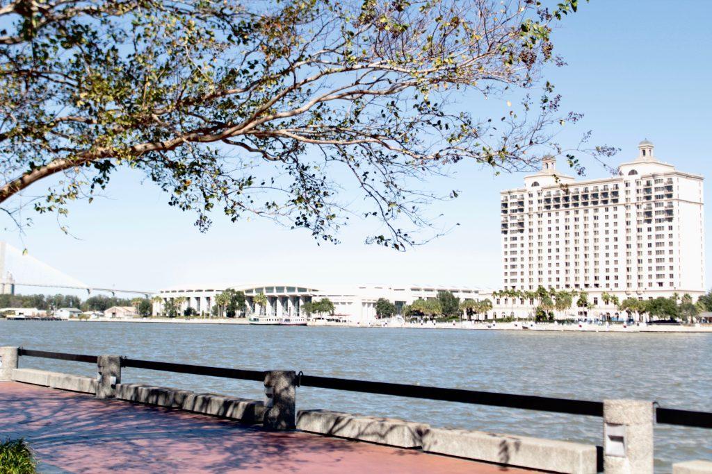 Travel Guide: Savannah, GA - River Walk - www.spousesproutsme.com