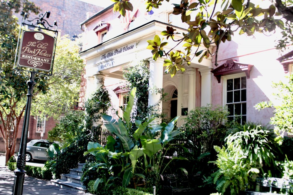 Travel Guide: Savannah, GA - The Olde Pink House - www.spousesproutsme.com