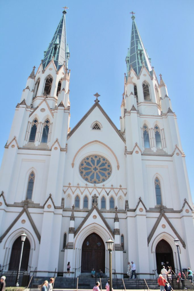 Travel Guide: Savannah, GA - Cathedral of St John Baptist - www.spousesproutsme.com