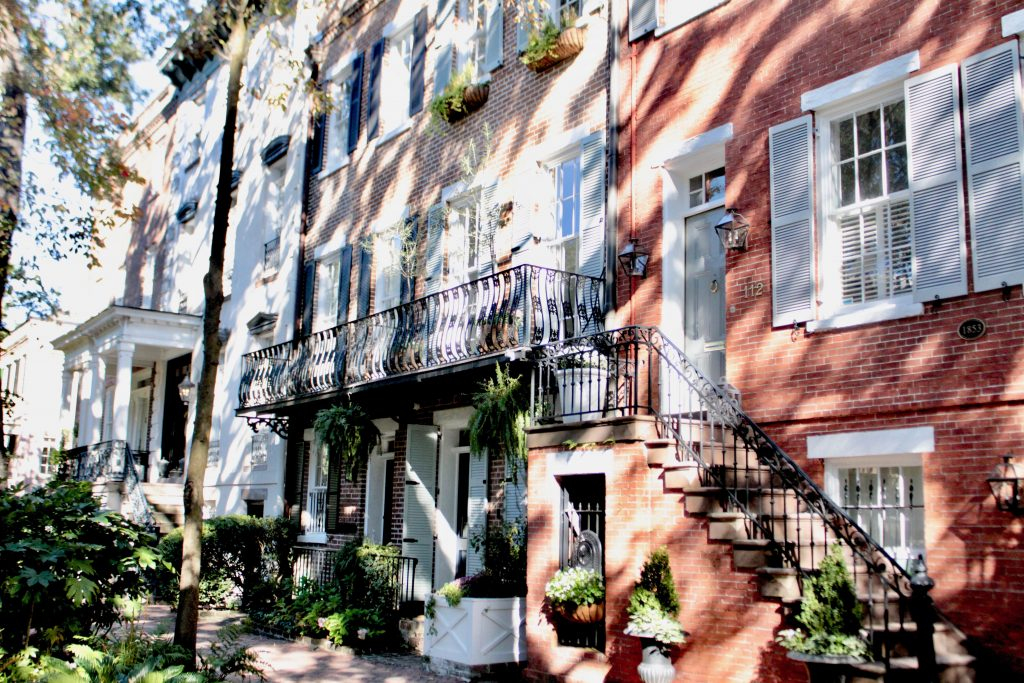Travel Guide: Savannah, GA - Jones Street - www.spousesproutsme.com