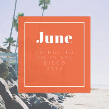 June Calendar of Events - San Diego