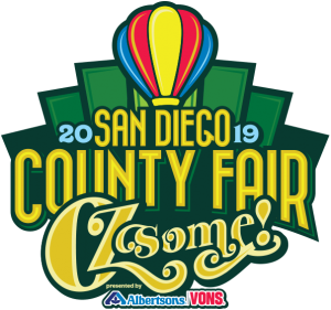 2019 San Diego County Fair Logo