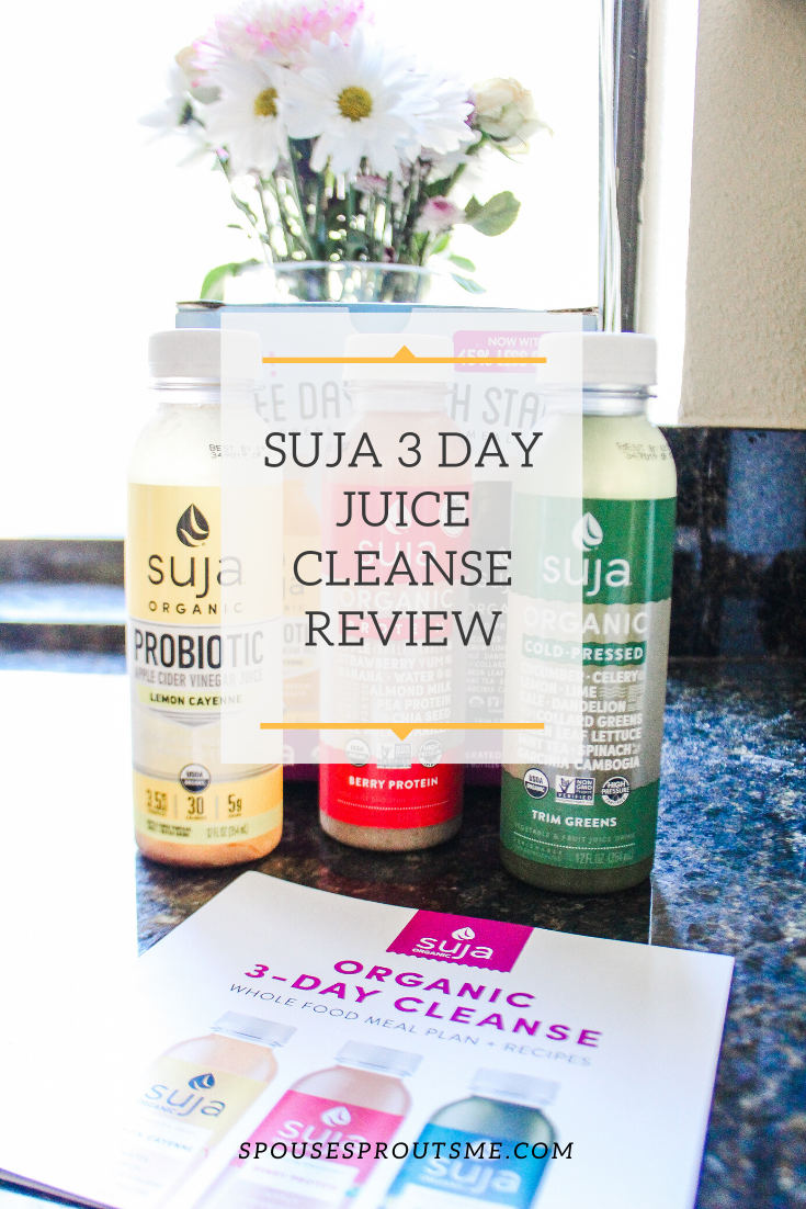 Suja 3 Day Juice Cleanse - www.spousesproutsme.com