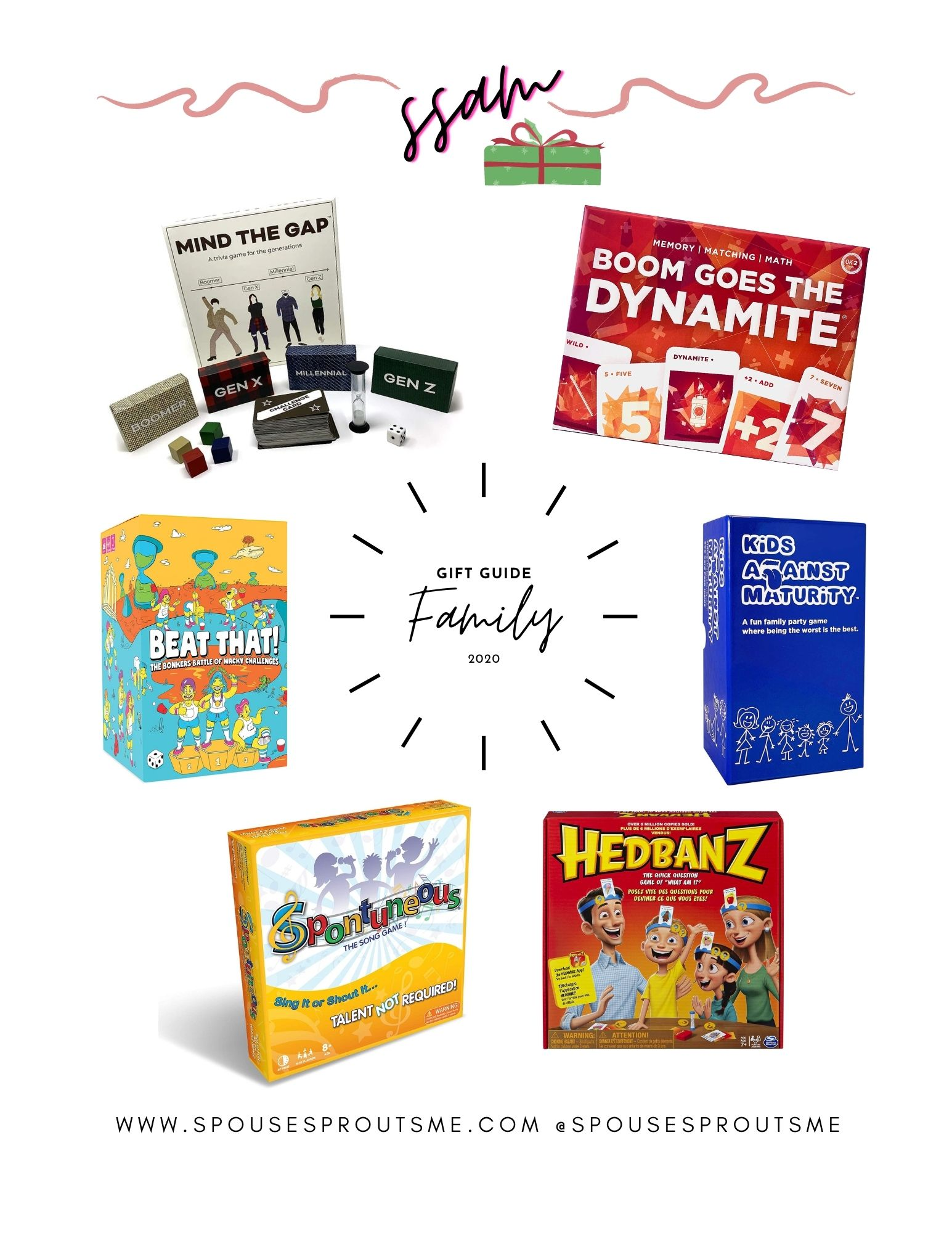 Holiday Gift Guide – Family