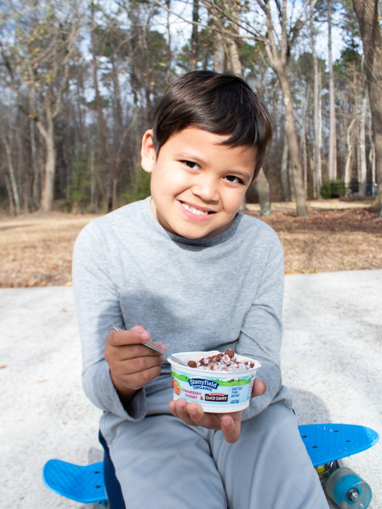 Stonyfield Yogurt - www.spousesproutsme.com