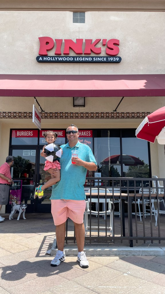 Pink's Hotdogs- Top things to do in Camarillo - www.spousesproutsme.com