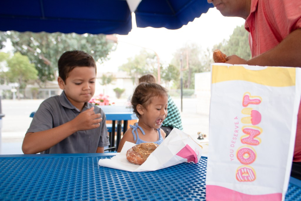 Rolling Pin Donuts - Top things to do in Camarillo - www.spousesproutsme.com